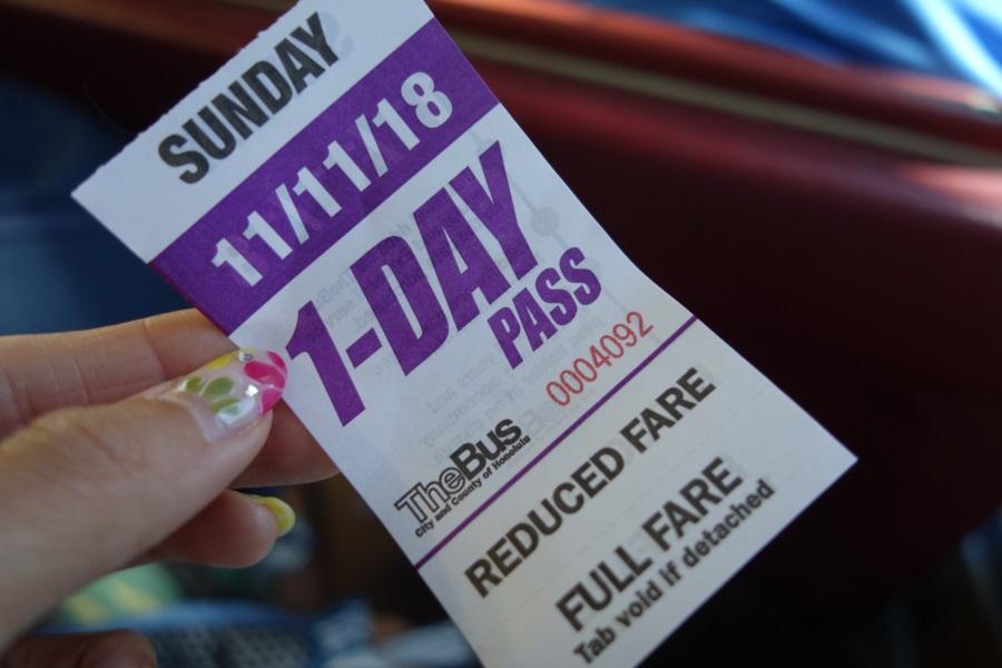 ザ・バスの1日乗車券