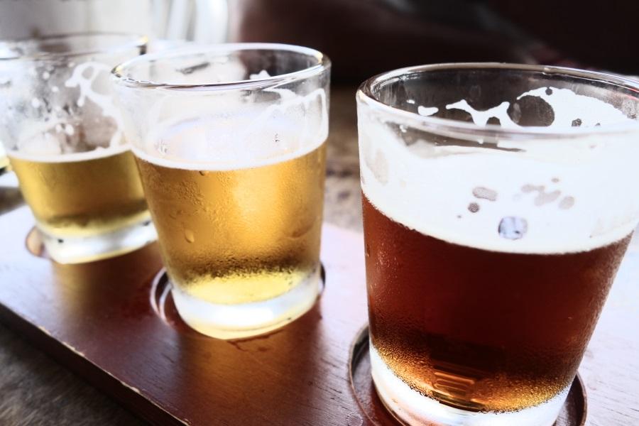 ワイキキブリューイングカンパニーのビール飲み比べ