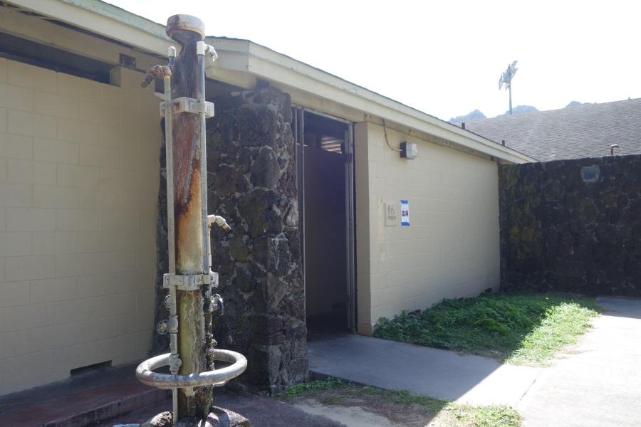 ワイマナロビーチのトイレ