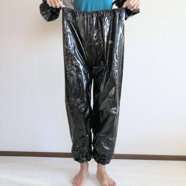 Zupのサウナスーツのサイズ感